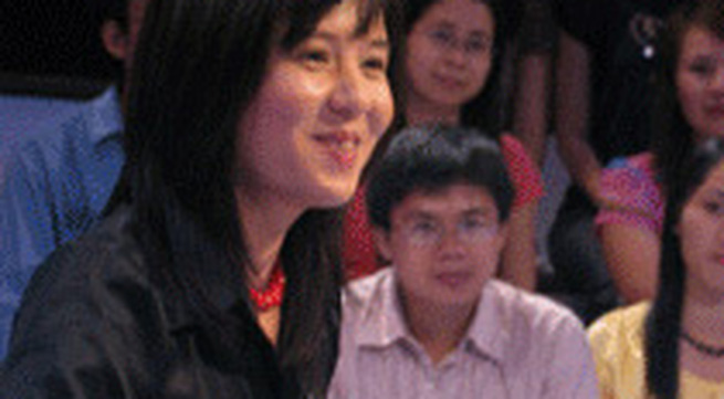Ngắm MC Diễm Quỳnh