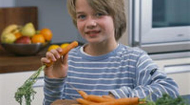Các loại rau trẻ nên ăn hàng ngày