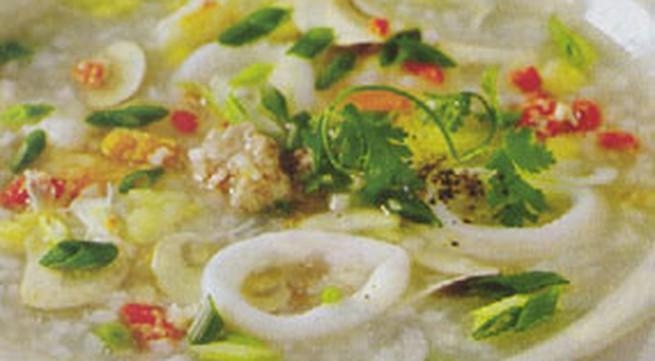 Cháo hải sản - Món ngon mùa lạnh