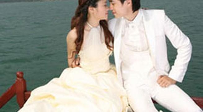 Chùm ảnh cưới lãng mạn của em trai ca sĩ Đăng Khôi