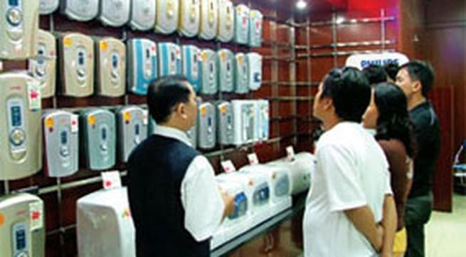 Máy tắm nước nóng trực tiếp có hệ thống chống giật