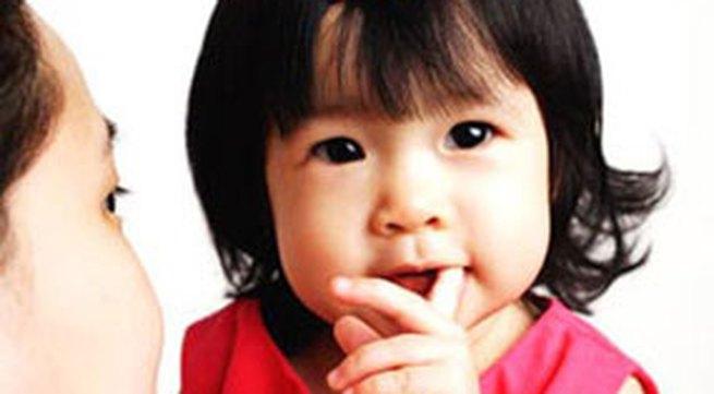 Giúp con sáng dạ từ tuổi lên 2