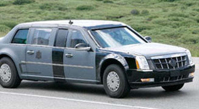 Siêu xe của Tổng thống Obama lộ diện