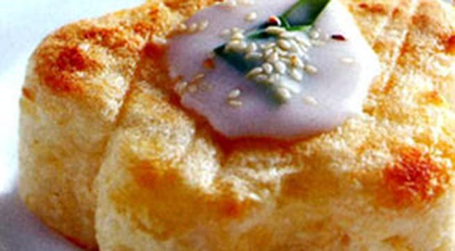 Học làm bánh: Bánh khoai mì nướng