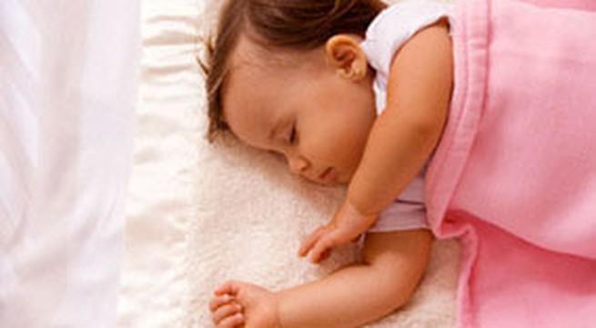 Nguy hiểm trẻ ngủ ngáy