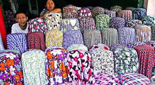 'Chợ Quảng Châu' giữa lòng Hà Nội