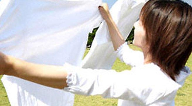 Mẹo tẩy vết mốc trên quần áo