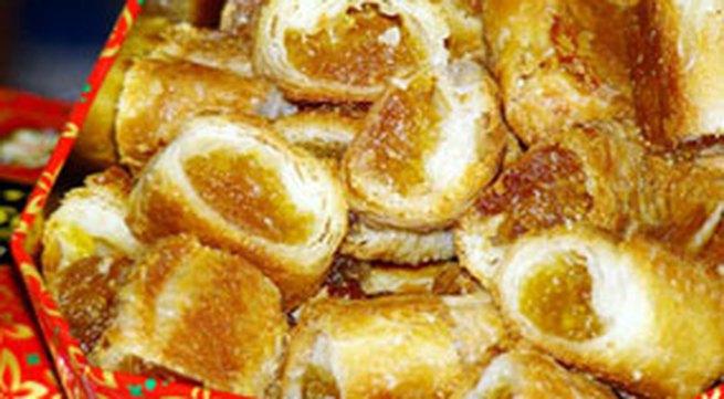 Học làm bánh: Bánh nhân mứt dứa