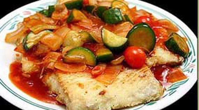 Thực đơn bữa tối: Cá sốt chua ngọt