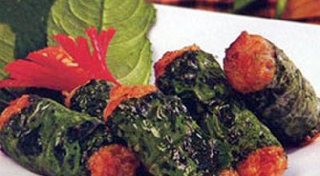 Món ngon hàng ngày: Thịt bò nướng lá lốt