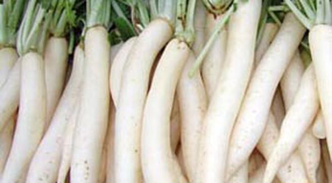 Chữa mất tiếng do viêm họng bằng củ cải