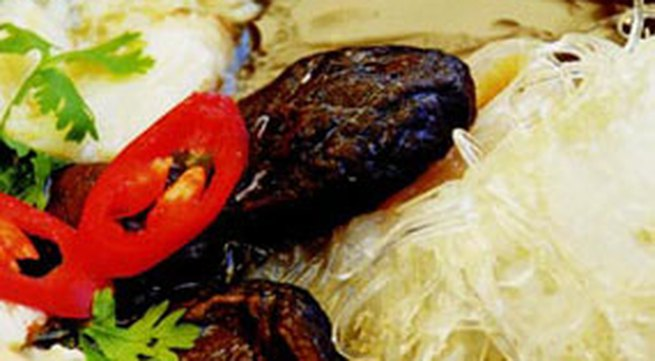 Món ăn nhẹ: Súp vi cá