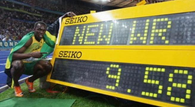 Kỷ lục Guinness mới: Chạy 100m trong 9,58 giây