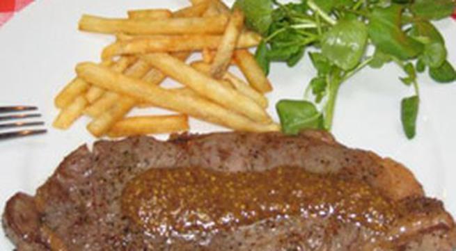 Thực đơn bữa tối: Thịt bò bít tết