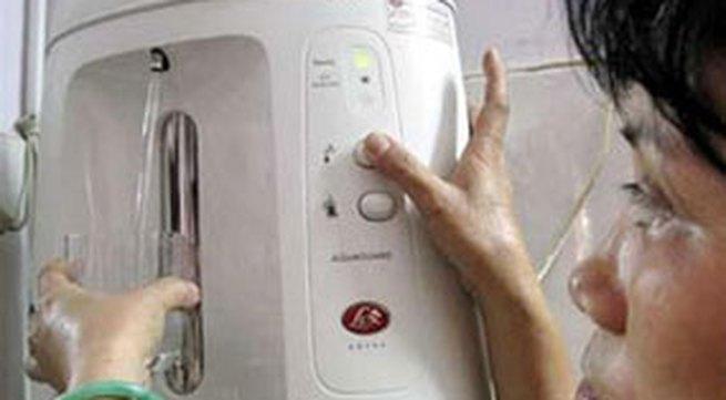 Cẩn thận khi mua máy lọc nước cho gia đình