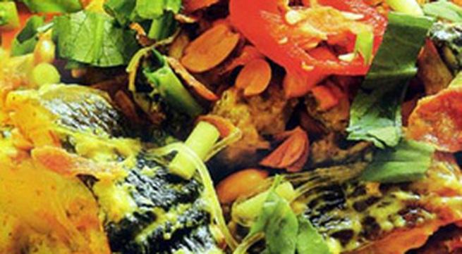 Thực đơn bữa trưa: Lươn xào lăn
