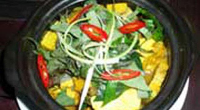 Hương vị quê nhà: Trạch om củ chuối