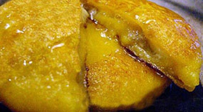 Học làm bánh: Bánh khoai lang chuối