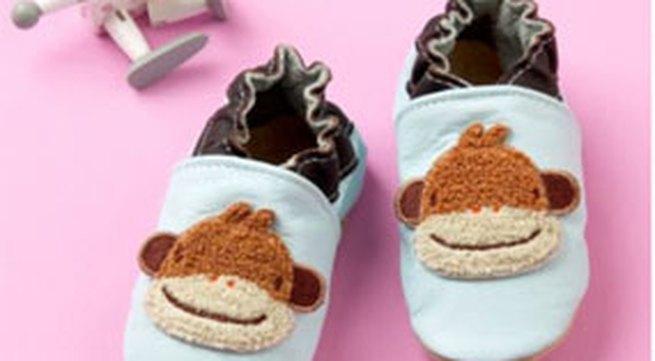 Giày vải mùa đông xinh xắn cho bé