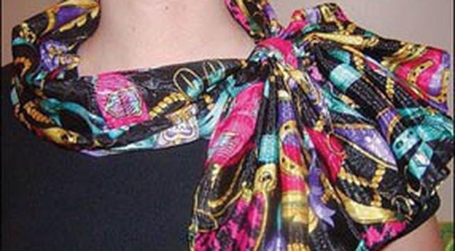 Cách thắt khăn quàng đẹp, đơn giản