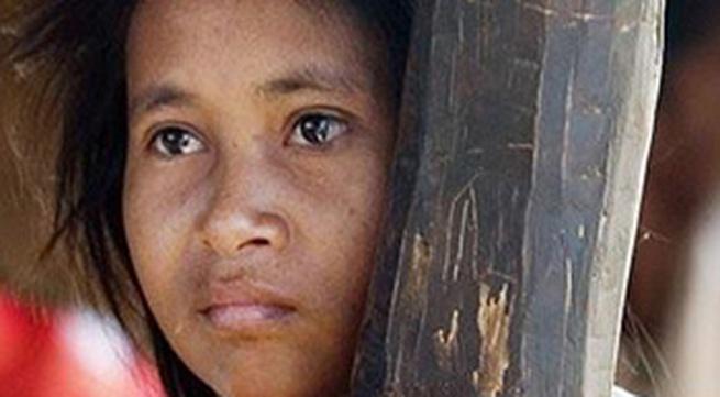 """Cô gái """"người rừng"""" trở về sau gần 10 năm mất tích"""