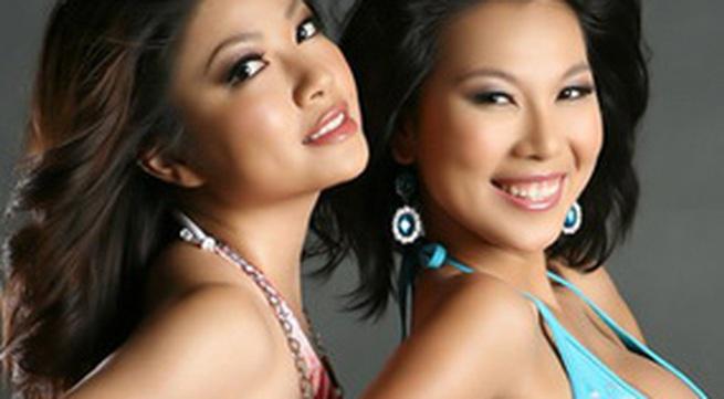 Khánh Ngọc, Tăng Bảo Quyên gợi cảm với bikini
