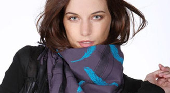 7 cách quàng khăn nữ tính, đơn giản