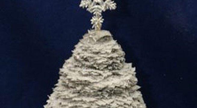 3 cách làm cây thông Noel