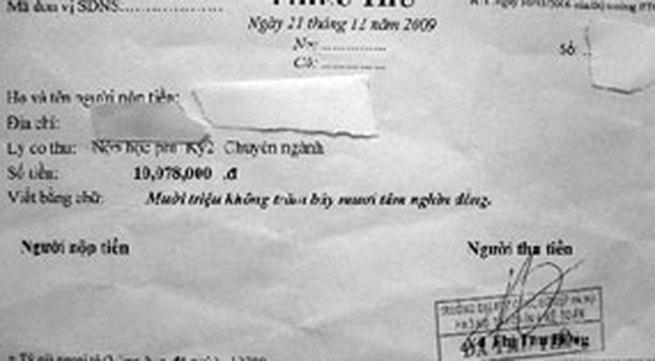 """Đại học Công nghiệp Hà Nội: Thu học phí theo tỷ giá... """"chợ đen"""""""