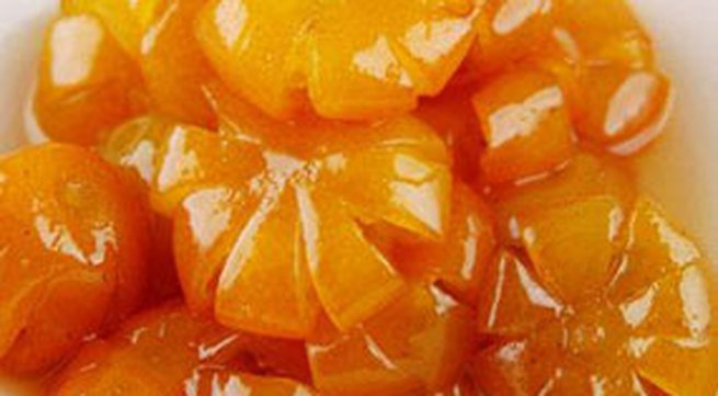 Cách làm quất ngâm đường ăn Tết