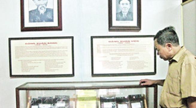 Bản huấn ca của dòng họ cố Tổng bí thư Trường Chinh