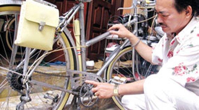 Chuyện chưa kể về những chiếc xe đạp cổ nhất nước