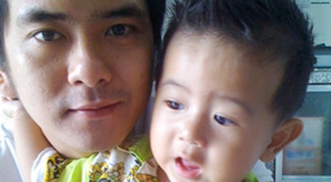 """""""Bé An"""" Hùng Thuận khoe con trai kháu khỉnh"""