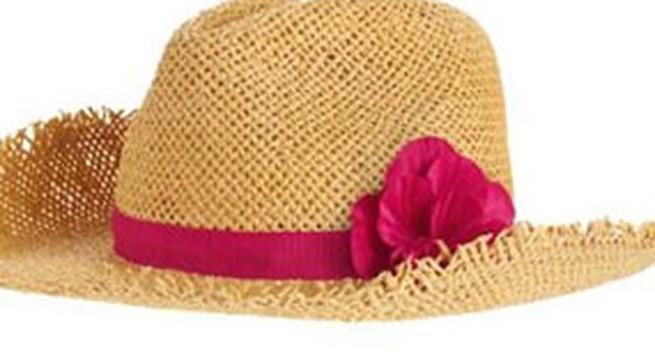 Mũ thật xinh cho bé trong mùa hè