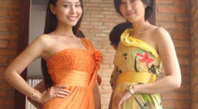 Áo lệch vai - mốt xuân hè 2010