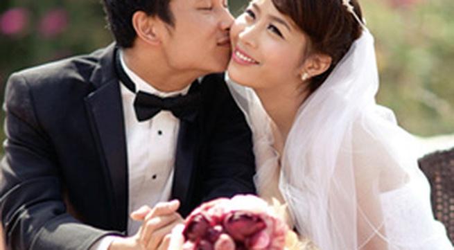 Bộ ảnh cưới tuyệt đẹp của MC Diệp Chi