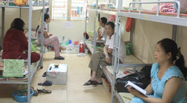 Bệnh viện Bạch Mai: Nhà lưu trú 15.000 đồng/ngày