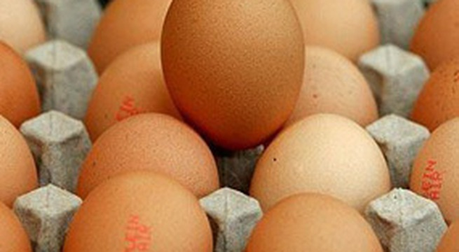 Bán trứng theo... cân
