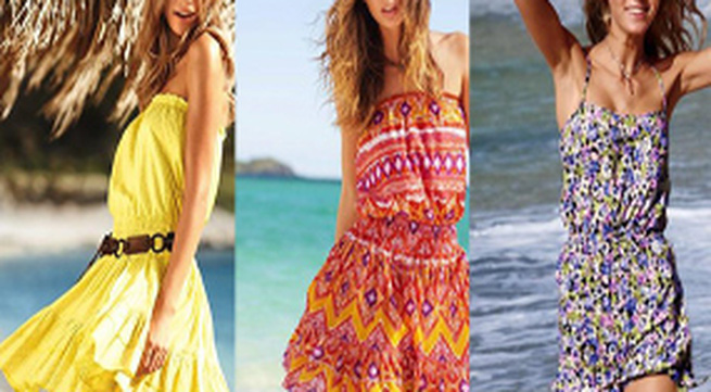 Váy đi biển đẹp nao lòng