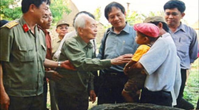 Đại tướng Võ Nguyên Giáp - Vị tướng giữa lòng dân