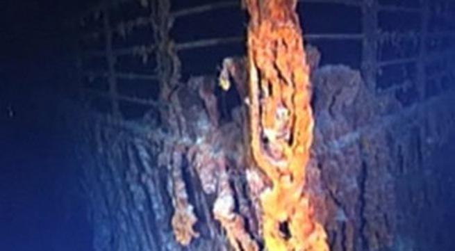 Hình ảnh mới nhất của tàu Titanic dưới đáy đại dương