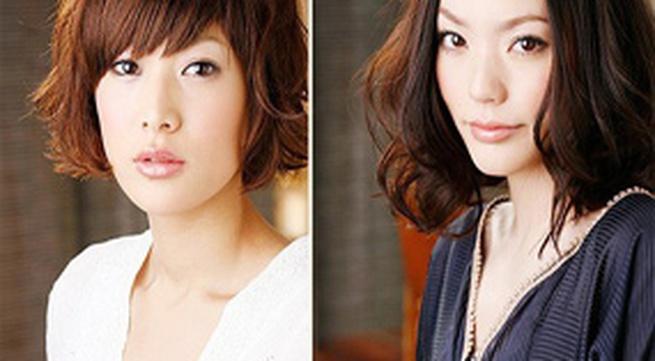 3 kiểu tóc đẹp với lọn xoăn lớn