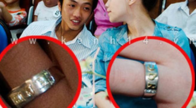 Hồ Ngọc Hà - Cường Đôla công khai nhẫn cưới?
