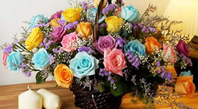 19 kiểu cắm hoa hồng thanh lịch
