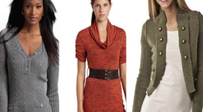 Những kiểu áo len tuyệt đẹp mùa thu