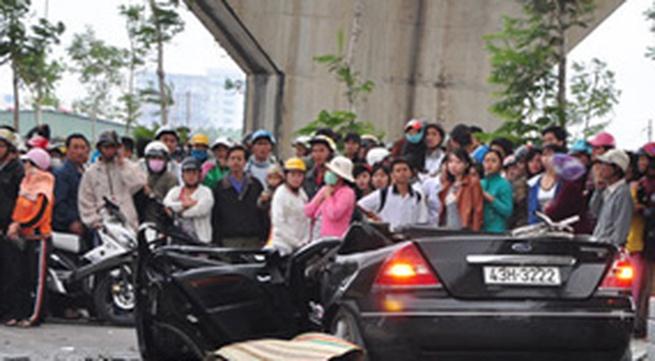 Tai nạn kinh hoàng tại cầu Thuận Phước