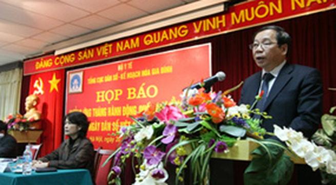 Bài Phát biểu của Thứ trưởng Nguyễn Bá Thủy tại buổi họp báo hưởng ứng Tháng hành động quốc gia về Dân số và Ngày Dân số VN