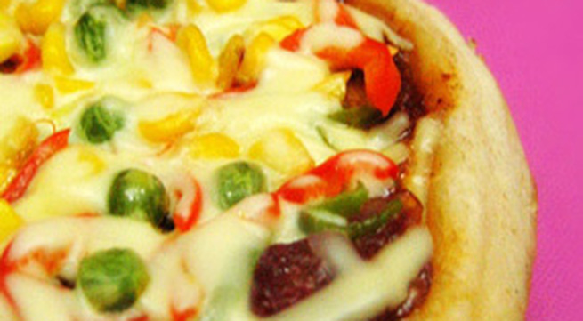 Tự làm pizza bằng... nồi cơm điện