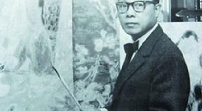 """Hé lộ bức tranh của """"họa sĩ đắt giá"""" nhất Việt Nam"""