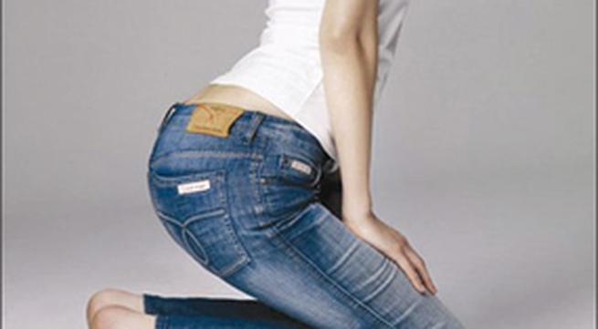 Mốt quần jean ôm